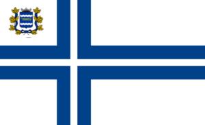 Nyländska Jaktklubben - Image: Flag of Nyland Yacht Club