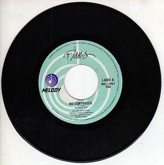"Flans - Single ""No Controles"" 1985"