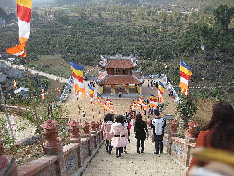 File:Flickr. Chùa Phật Tích Trúc Lâm, Bản Giốc, 02-04-2015 (4) Tam quan.jpg