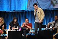 Flickr - Genevieve719 - Zooey Deschanel, Jake Johnson, Max Greenfield, Lamorne Morris, Hannah Simone (1).jpg