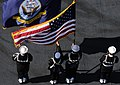Flickr - Official U.S. Navy Imagery - USS John C. Stennis Sailors parade the colors.jpg