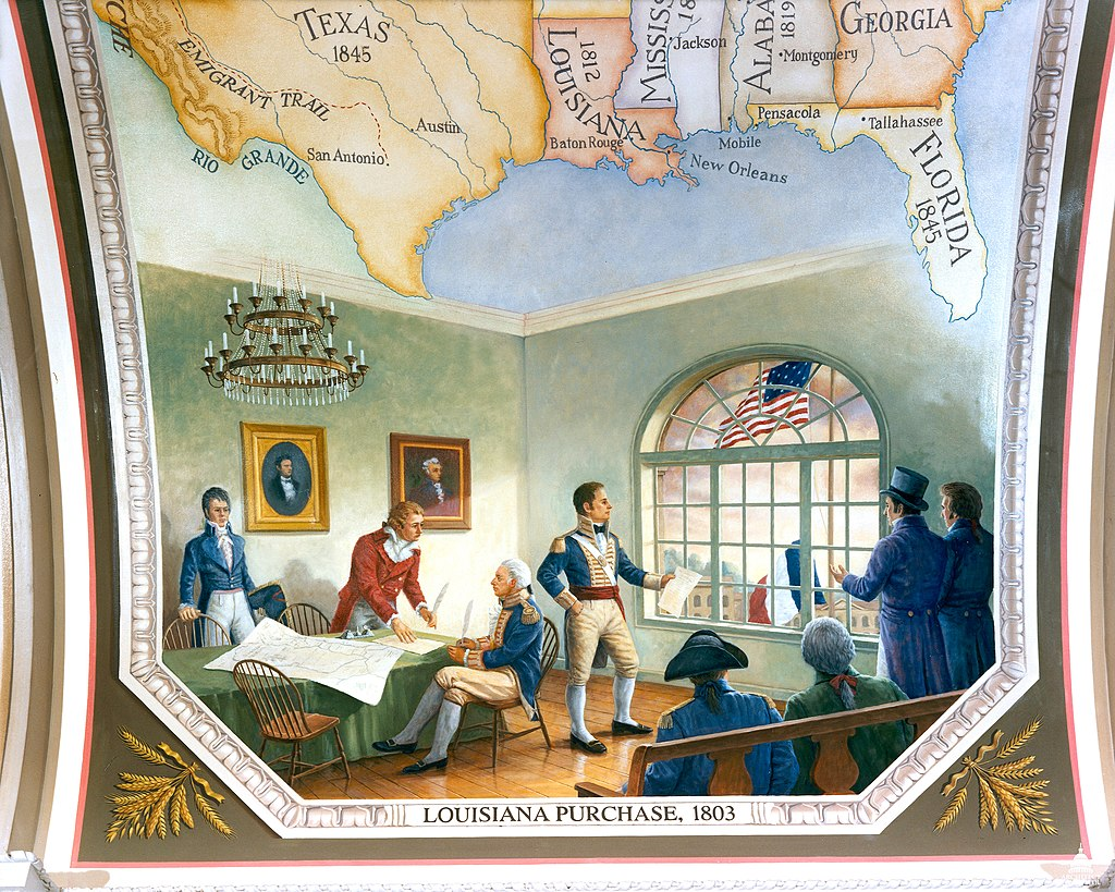 Flickr - USCapitol - Louisiana Purchase, 1803