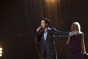 Norway in the Eurovision Song Contest - Image: Flickr aktivioslo Didrik Solli Tangen på scenen Første prøve (5)