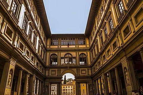 Florence Italy Uffizi Museum panoramio