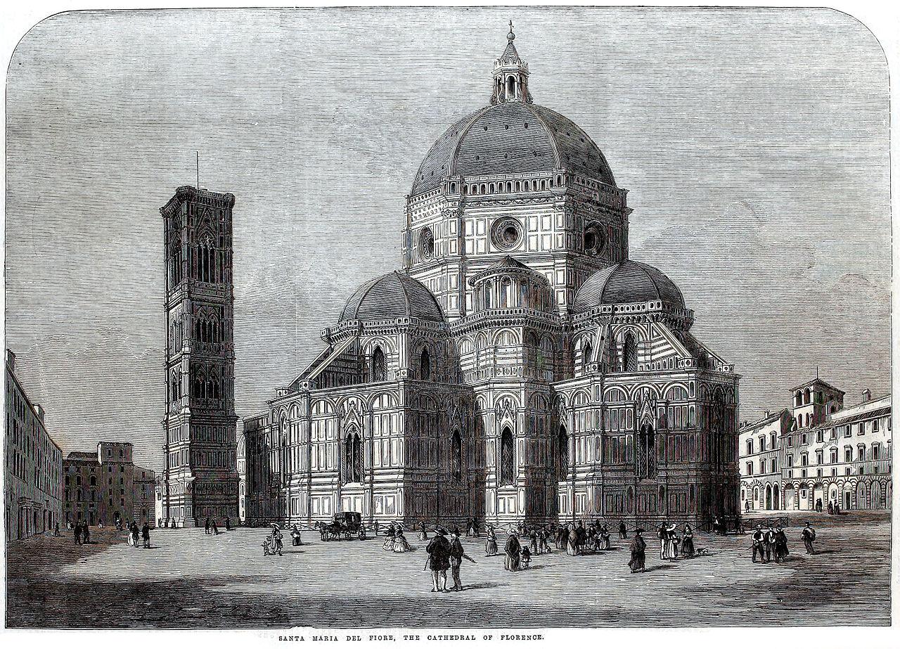 Флорентийский собор ILN.jpg