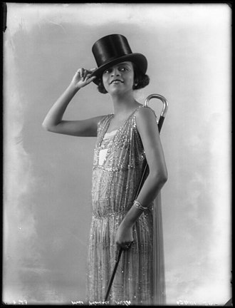 Florence Mills - Image: Florence Mills in 'Dover Street to Dixie' at the London Pavilion