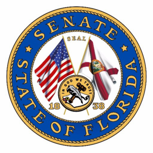 Seal of Florida - Image: Florida Senate seal color