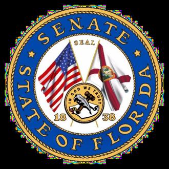 Seal of Florida - Image: Florida Senate seal color