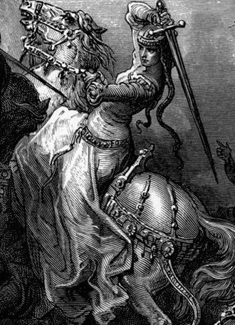 Women in post-classical warfare - Florine of Burgundy