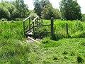 Footbridge on Amberley Wild Brooks - geograph.org.uk - 1332674.jpg