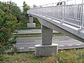 Footbridge over A38 near Cotes Park Industrial Estate - geograph.org.uk - 242253.jpg