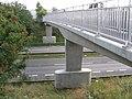 Footbridge over A38 near Cotes Park Industrial Estate - geograph.org.uk - 242253.jpg