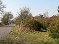 Footpath signpost into Hollesley Heath - geograph.org.uk - 377282.jpg