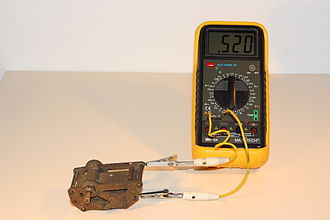 Capacitance meter - Image: Forgokondenzator 3