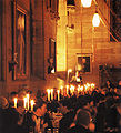 Formal dinner in Great Hall - St Johns College U Sydney.jpg