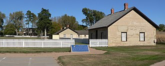 Fort Hartsuff State Historical Park - Image: Fort Hartsuff compound 4