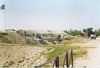 Fort de la Pompelle - Image: Fort de la pompelle kehlseite