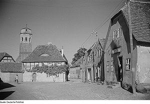 Calau - Calau with parish church