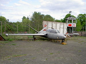 Fouga CM.170R Magister, Alliierte in Berlin.JPG