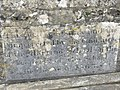 Foundation stone for the fountain outside the old school - geograph.org.uk - 795415.jpg