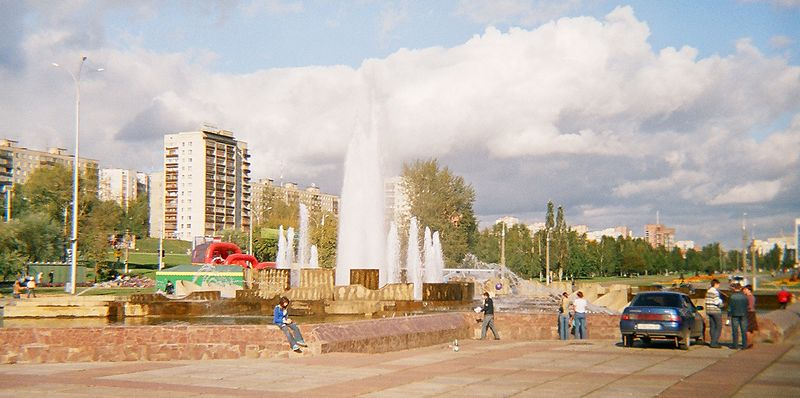 File:Fountain in front of Perm Drama Theater.jpg