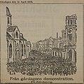 Från gårdagens demonstration. Illustration ur Stockholms-Tidningen 21 april 1902.jpg