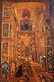 Fra Damiano da Bergamo, dossale del presbiterio di s. domenico, 1528-38, 04 s. domenico resuscita napoleone orsini 02.JPG
