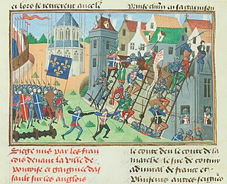 Siege of Pontoise Battle of the Hundred Years War
