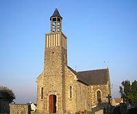 L'église Saint-Jean-Baptiste (18e siècle).