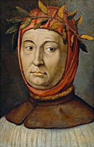 English: Portrait of Francesco Petrarca (1304-...