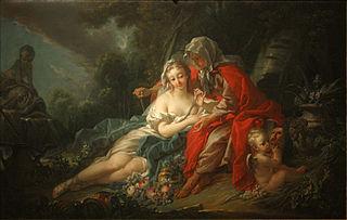 Boucher El Bano De Diana.Francois Boucher 1703 1770 Pintor Rococo