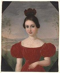 Francois Fleischbein - Portrait of Marie Louise Tetu.jpg