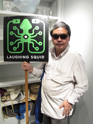 Laughing Squid - Laughing Squid sponsored the back of Frank Chu's sign from 2009 to 2013.