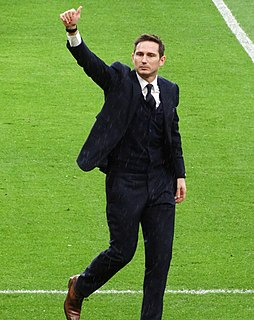 Frank Lampard English association football player and manager