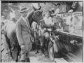 Franklin D. Roosevelt, John, Franklin D. Roosevelt Jr., and Sara Delano Roosevelt in Rhinebeck, N.Y - NARA - 197041.tif