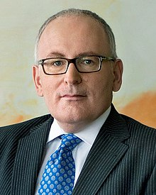 Frans Timmermans earned a  million dollar salary, leaving the net worth at 4.3 million in 2017