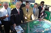 Franz Beckenbauer y Hermes Navarro