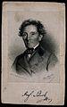 Franz Schuh. Lithograph by J. Bauer, 1858. Wellcome V0005333.jpg