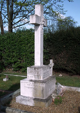 Fred Archer (jockey) - Grave of jockey Frederick James Archer, Newmarket, Suffolk