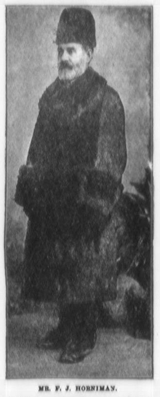 Frederick John Horniman - Frederick J. Horniman