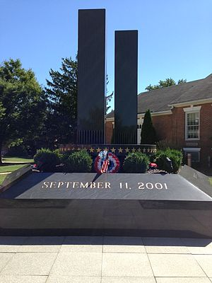 Freehold Township, New Jersey - Freehold Township 911 Memorial located near Town Hall on Schanck Road