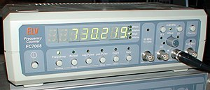 Frequency - Modern frequency counter