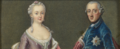 Friedrich II of Prussia and his wife Elisabeth Christina - Royal Collection.png