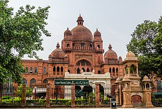 Ganga Ram - The Lahore Museum building was designed in the syncretic Indo-Saracenic Revival architectural style by Sir Ganga Ram.