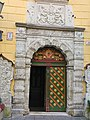 Front door to the House of the Blackheads in Tallinn.jpg