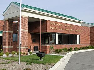 Perrysburg Township, Wood County, Ohio - Perrysburg Township Police/Fire/EMS building
