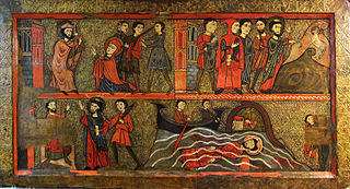 Altar frontal from Sant Climent de Taüll