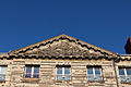 Fronton de l'hôtel le Mercier (Lisieux, Calvados, France).jpg