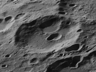 Frost (crater) lunar crater