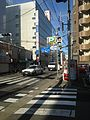 Fukuoka Prefectural Road No. 49 near NTT-mae crossroads.jpg